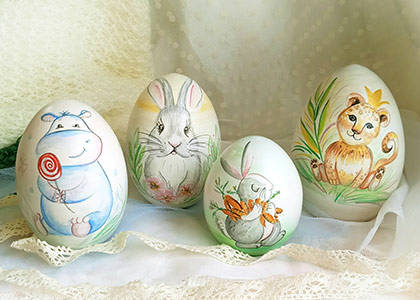 Animals eggs